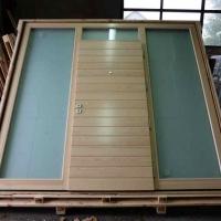 skrzynia na pochyłym stojak pochyły opakowania drewniane do szyb okien
