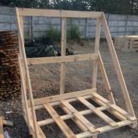Stojak drewniany jednostronny